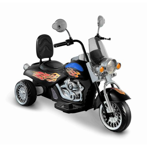 Motorbike 6-Volt Powered Ride-On (Black)