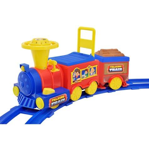 6V Ride-On Talking Train