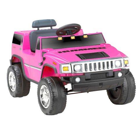 6V Hummer H2 Ride-On - Pink