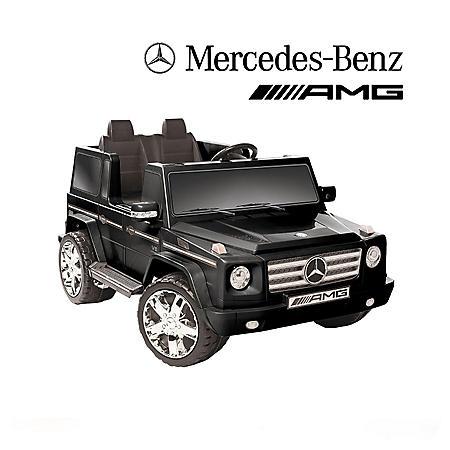 12V Mercedes Benz G55 AMG Ride-On - Black