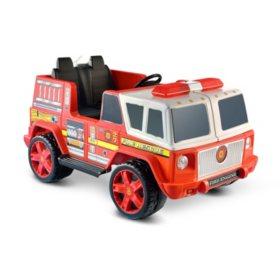 12V Ride-On Emergency Fire Engine