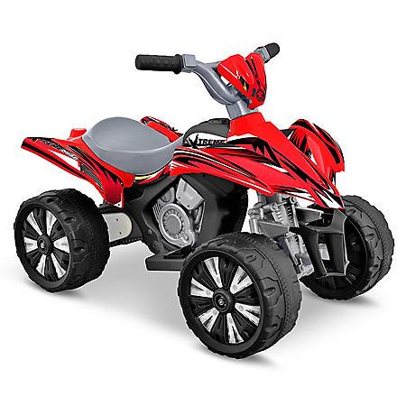 6 Volt Xtreme Quad Red