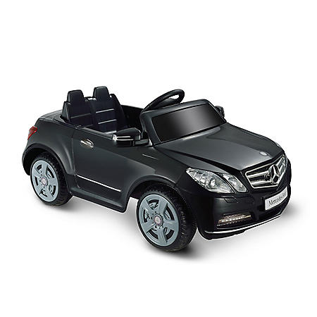 6V 1-Seater Black Ride-on Mercedes Benz E550