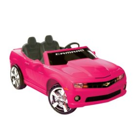 12V Chevrolet Racing Camaro Two Seater (Various Colors)