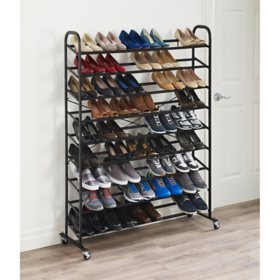 neatfreak Rolling 9-Tier Mega Shoe Tower