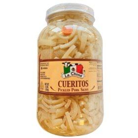 La Chona Cueritos Pickled Pork Skins (4 lbs.)