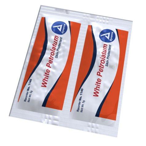 Dynarex White Petrolatum Skin Protectant Packets (0.5g, 864 ct.)