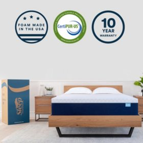 "Sleep Innovations 14"" Memory Foam King Mattress"