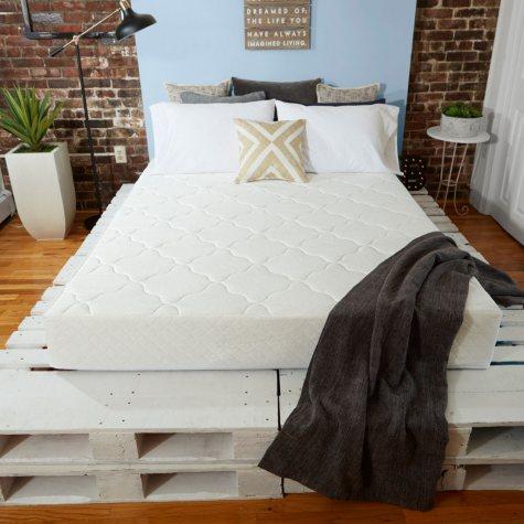 "Sleep Innovations Bailey 8"" Memory Foam California King Mattress"
