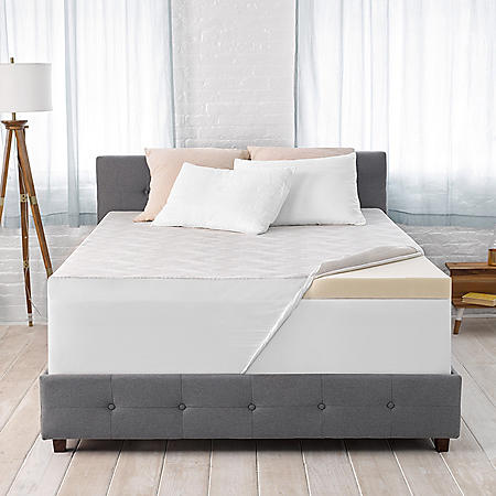 """Serta Ideal Temperature 3"""" Memory Foam Mattress Topper with 37.5 Technology (Various Sizes)"""