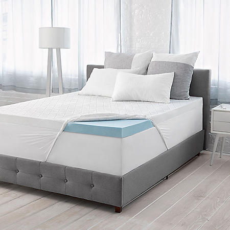 "Serta Calm 3"" Gel Memory Foam Mattress Topper (Various Sizes)"