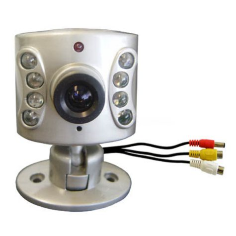 Wisecomm Night Vision Camera with 100' Cable