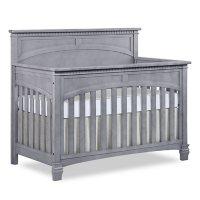 Evolur Santa Fe 5-in-1 Convertible Crib, Storm Gray