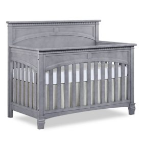Evolur Santa Fe 5-in-1 Convertible Crib, Storm Gray