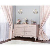 Evolur Aurora 7-Drawer Double Dresser (Choose Your Color)