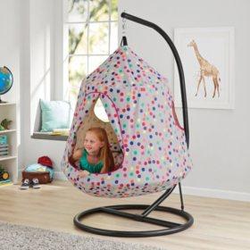 Pleasing The Hangout Pod Kids Hanging Tent Sams Club Creativecarmelina Interior Chair Design Creativecarmelinacom