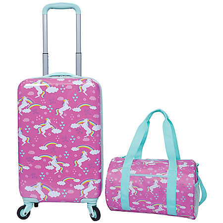 2 Piece Kids Luggage Travel Set