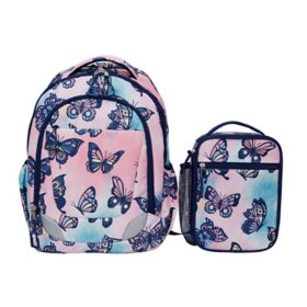Crckt Youth 2-Piece Backpack Set with Matching Lunch Kit (Assorted Colors)