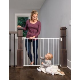 """Regalo Top of Stair Baby Gate, White (28.75"""" Tall)"""