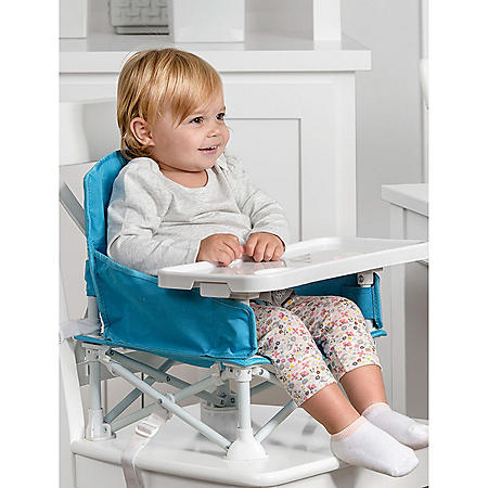 Regalo My Chair Portable Booster Floor Seat with Tray (Choose Your Color)