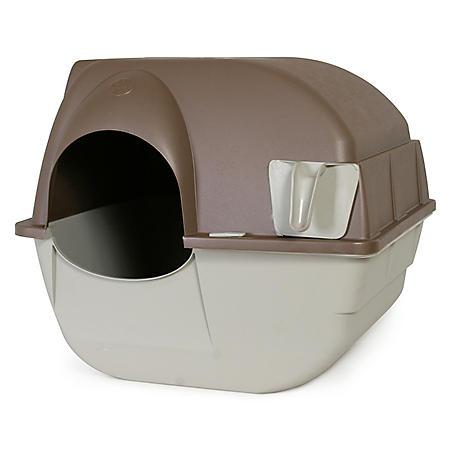 Omega Paw Roll 'n Clean Self Cleaning Litter Box (Regular)