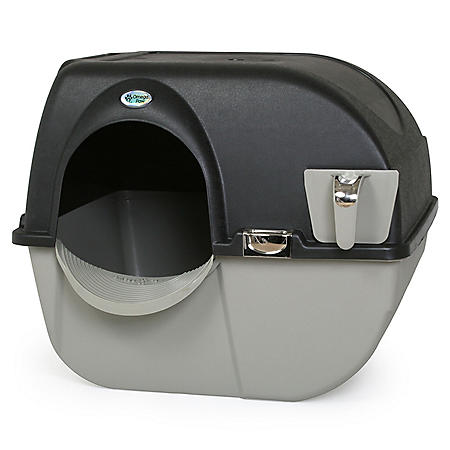Omega Paw Elite Roll 'n Clean Self-Cleaning Litter Box (Choose Your Size)