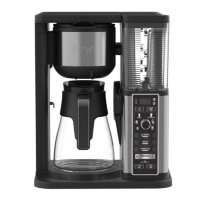 Ninja Specialty Coffee Maker with Fold-Away Frother and Glass Carafe