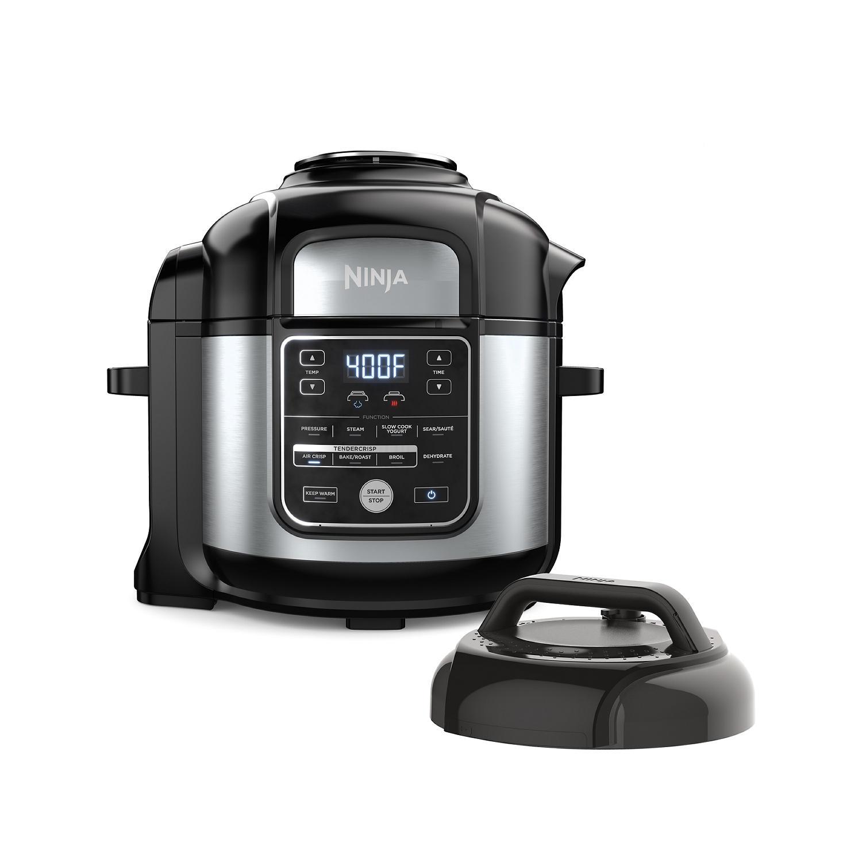 Ninja OS405 Foodi 10-in-1, 8 Quart XL Pressure Cooker Air Fryer Multicooker