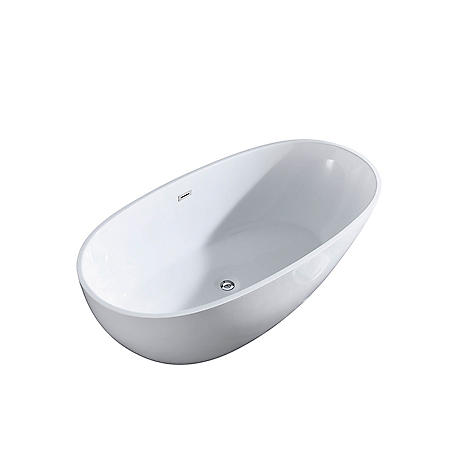"Charlotte 67"" Freestanding Bathtub - No Faucet"