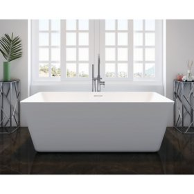 "Aria Freestanding Bathtub - 67"""