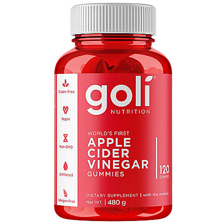 Goli Apple Cider Vinegar Gummies (120 ct.)