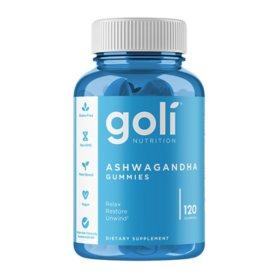 Goli Ashwagandha Gummies (120 ct.)