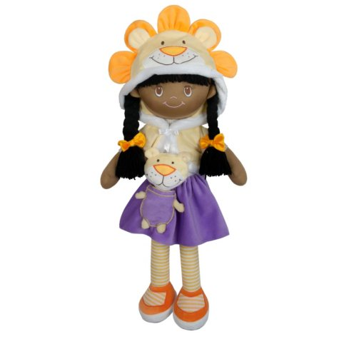 My Friend Huggles Soft Doll and Plush Pal 3-Piece Set, Cleo and Leo