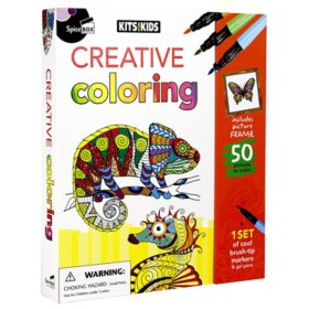 Creative Coloring (Kits for Kids)