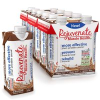 Rejuvenate Ready to Drink with Organic Plant Protein, Chocolate (11 fl. oz., 12 pk.)