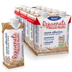 Rejuvenate Ready to Drink with Organic Plant Protein, Mocha (11 fl. oz., 12 pk.)
