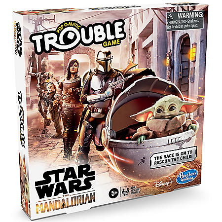 Trouble: Star Wars The Mandalorian Edition