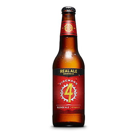 Real Ale Firemans #4 Blonde Ale (12 fl. oz. bottle, 12 pk.)