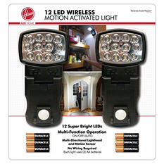 Hoover 12-LED Motion Activated Light (2-pack)