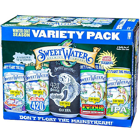 Sweetwater Tackle Box (12 fl. oz. can/bottle, 12 pk.)
