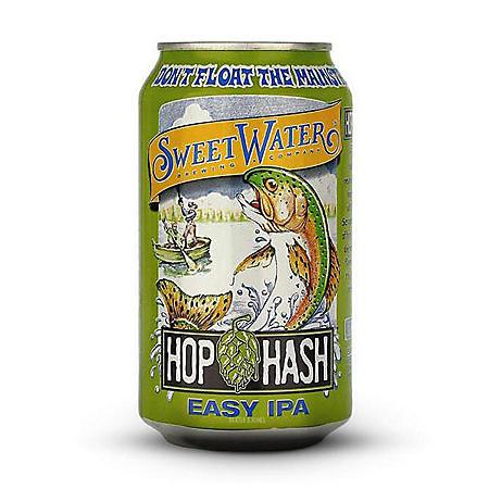 Sweet Water Hop Hash Easy IPA (12 fl. oz. can, 15 pk.)