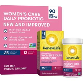 Renew Life Ultimate Flora Probiotic Women's Daily Care 25 billion (90 ct.)