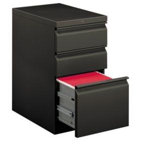 "HON 22-7/8"" Efficiencies Mobile Pedestal with 1-File Drawer, Select Color"