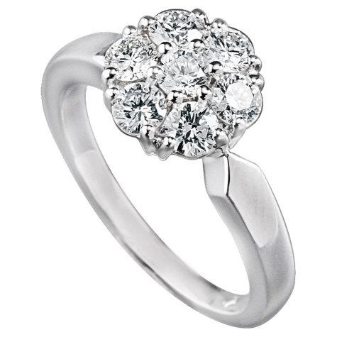 .98 ct. t.w. Diamond Cluster Ring (I, VS2)