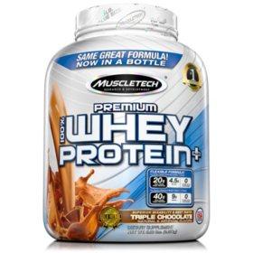 MuscleTech Premium 100% Whey Protein, Chocolate (5 lbs.)