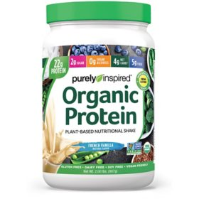 Purely Inspired Organic Protein Powder 100% Plant-Based ,Vanilla