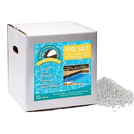 Pool Salt 50-Lb. Salt Chlorinator