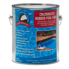 Bare Ground Rubberized Chlorinated Pool Paint