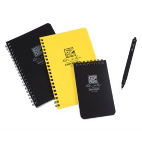 Rite in the Rain All-Weather Spiral Notebooks and Pen