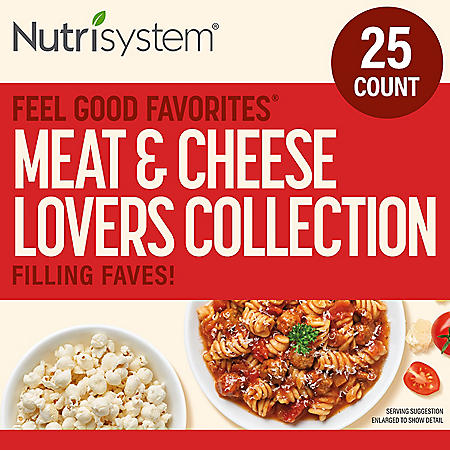 Nutrisystem Meat & Cheese Lovers Collection